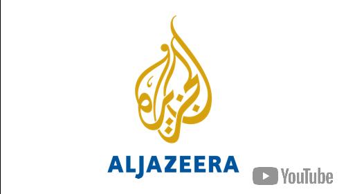 Al Jazeera YouTube Channel for Digital Signage logo