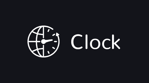 Clock App for Digital Signage logo
