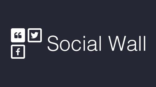 Social wall for Digital Signage logo